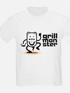 Grilling BBQ Monster T-Shirt