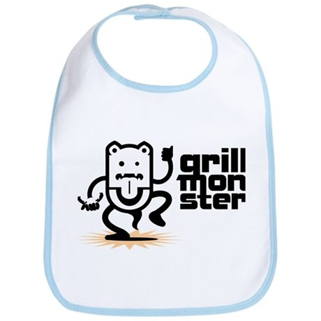 Grilling BBQ Monster Bib
