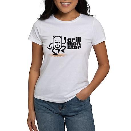 Grilling BBQ Monster Women's T-Shirt