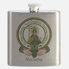 McCarthy Clan Motto Flask