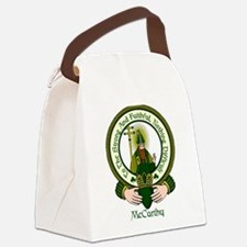 McCarthy Clan Motto Canvas Lunch Bag