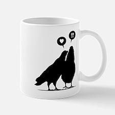 Love me Doves - Two Valentine Birds 1 Mug