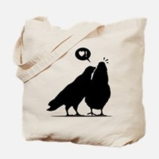 Love me now - Two Valentine Birds 2 Tote Bag