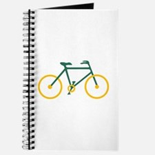 Green and Gold Cycling Journal