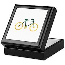 Green and Gold Cycling Keepsake Box