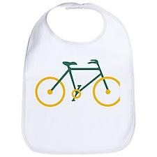 Green and Gold Cycling Bib