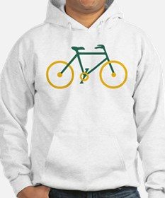 Green and Gold Cycling Jumper Hoody