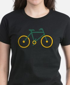 Green and Gold Cycling Tee
