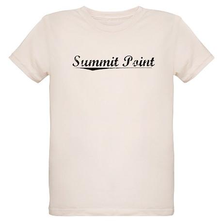 Summit Point, Vintage Organic Kids T-Shirt