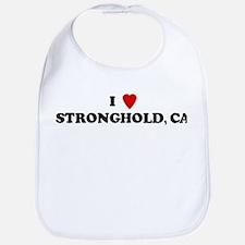 I Love STRONGHOLD Bib