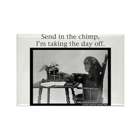 Office Chimp Rectangle Magnet (10 pack)