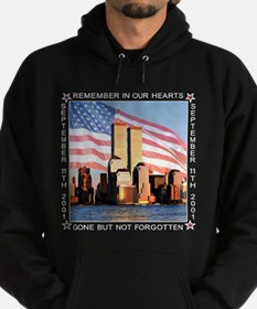 9-11 Memorial Twin Towers Hoodie