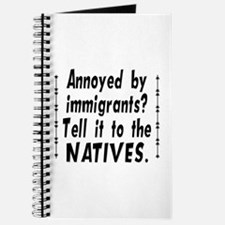 Tell It To The Natives Journal
