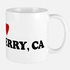 I Love STRAWBERRY Mug