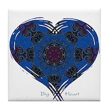 Big Heart Balance Tile Coaster