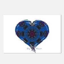 Big Heart Balance Postcards (Package of 8)
