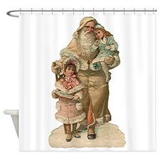 Victorian Santa Claus Shower Curtain
