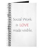 Social work Journals & Spiral Notebooks