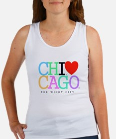 Chicago The Windy City Classic Rainbo Colors Lrg W