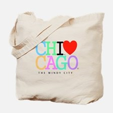 Chicago The Windy City Classic Rainbo Colors Lrg T