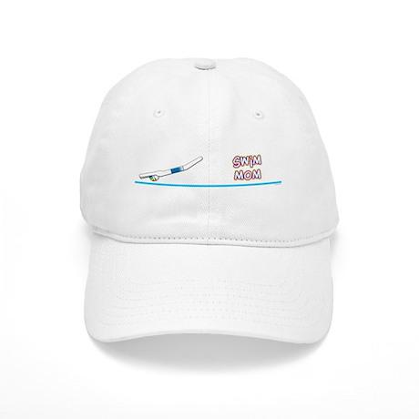 Swim Mom (boy) Cap