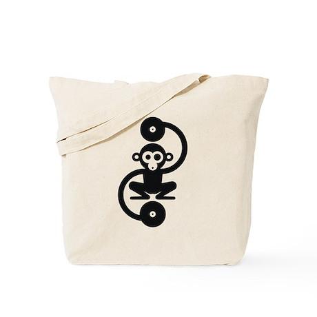 Monkey Music Tote Bag