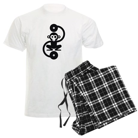 Monkey Music Men's Light Pajamas