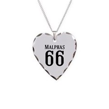 Calebs Football Jersey Number Necklace