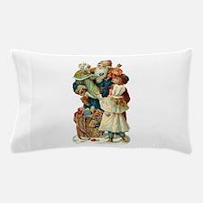 Victorian Santa Claus Pillow Case