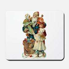Victorian Santa Claus Mousepad