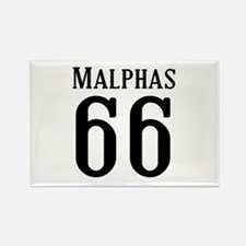 Calebs Football Jersey Number Rectangle Magnet