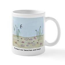 Protect our beaches and bays Small Small Mug
