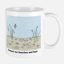 Protect our beaches and bays Small Small Mug