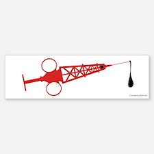 Hypo-Derrick (Red) - Sticker (Bumper)