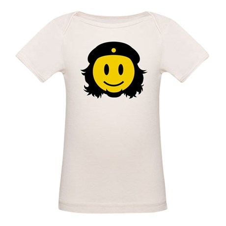 Che Smiley Icon Organic Baby T-Shirt