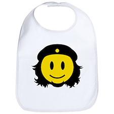 Che Smiley Icon Bib