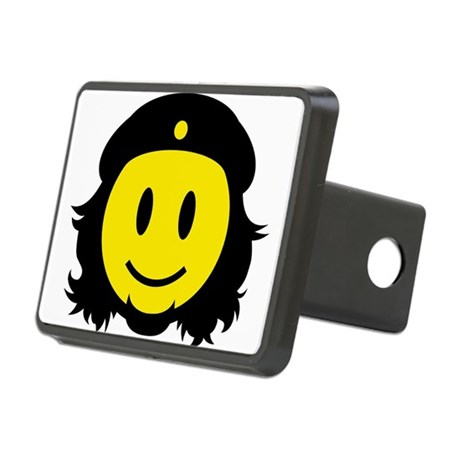 Che Smiley Icon Rectangular Hitch Cover