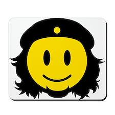 Che Smiley Icon Mousepad
