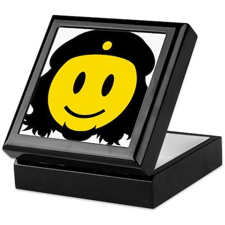 Che Smiley Icon Keepsake Box