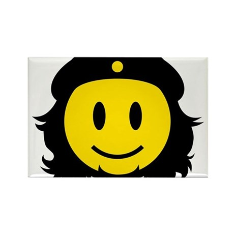 Che Smiley Icon Rectangle Magnet