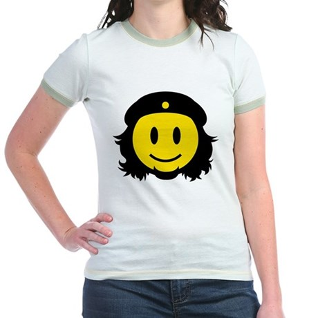 Che Smiley Icon Jr. Ringer T-Shirt
