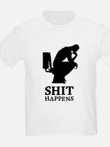 Think shit happens - The Thinker No.2 T-Shirt