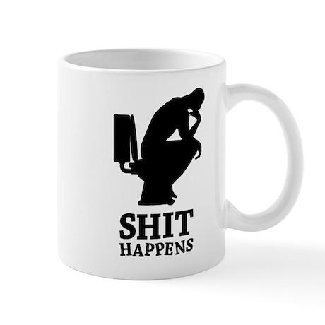 Think shit happens - The Thinker No.2 Mug