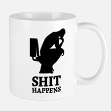 Think shit happens - The Thinker No.2 Mug