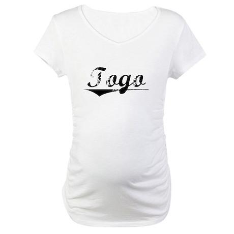 Togo, Vintage Maternity T-Shirt