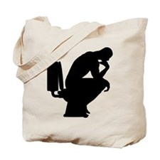 Think shit happens - The Thinker Icon Tote Bag