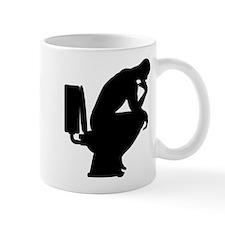 Think shit happens - The Thinker Icon Mug