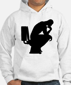 Think shit happens - The Thinker Icon Hoodie