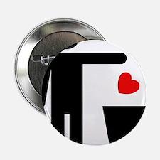 "Trash Heart Man 2.25"" Button"