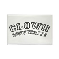 Clown University / College Rectangle Magnet